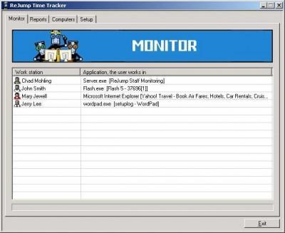 Staff Monitoring 2.1 screenshot