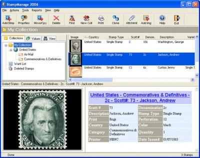 StampManage 2006 screenshot