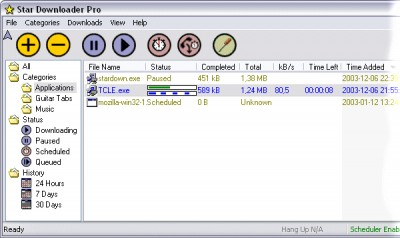 Star Downloader Pro 1.52 screenshot