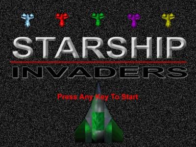 Starship Invaders 1.0 screenshot