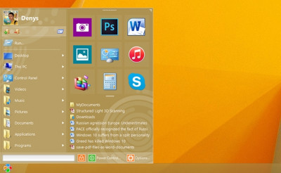 Start Menu 10 6.5 screenshot