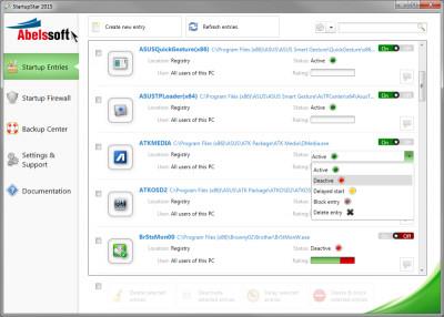 StartupStar 2017.9u screenshot