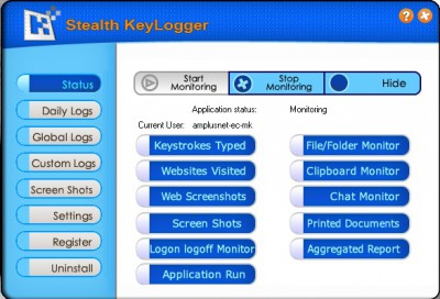 Keylogger Stealth