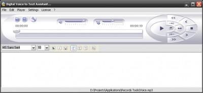 Stenographer 1.5 screenshot