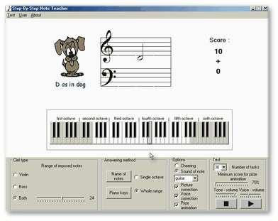 Step by step Note teacher 2.7 screenshot