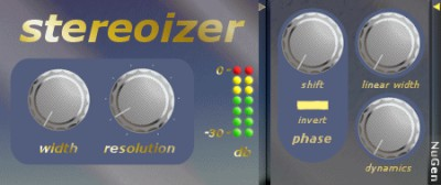 Stereoizer 2.3 screenshot