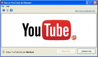 SterJo YouTube Ad Blocker 1.2 screenshot
