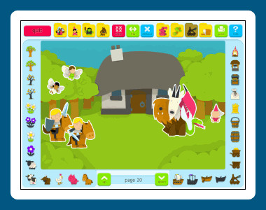 Sticker Book 2: Fantasy World 1.03.03 screenshot