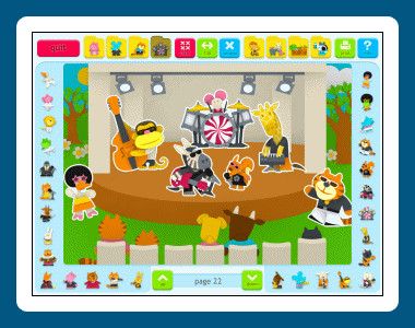 Sticker Book 3: Animal Town 1.02.20 screenshot