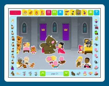 Sticker Book 4: Fairy Tales 1.02.16 screenshot