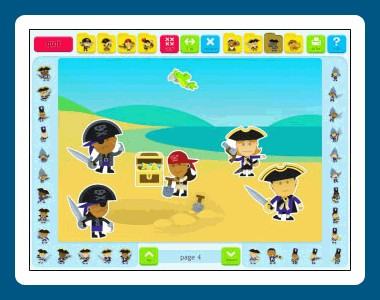 Sticker Book 5: Pirates 1.00.75 screenshot