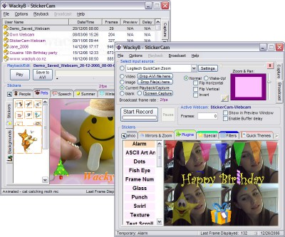 StickerCam 3.2.41 screenshot