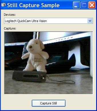 Still Capture Library 1.4 screenshot
