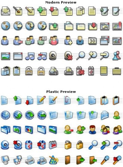 Stock Icons - XP and MAC style icons free 1.0 screenshot