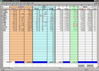 StockWatch 8.0 screenshot