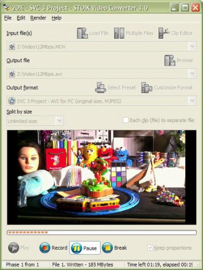 STOIK Video Converter 3 screenshot