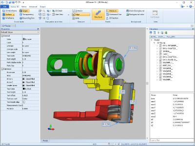 STP Viewer also called ABViewer 14 screenshot