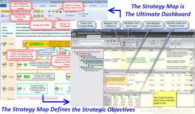 Strategy Map Balanced Scorecard 6.8 screenshot