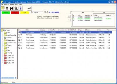 StromaSoft CRM Customer Service Helpdesk - Outlook 3.3.0 screenshot