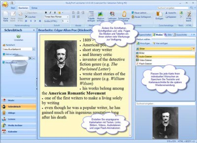 StudyProf Lernkartei 3.00 screenshot
