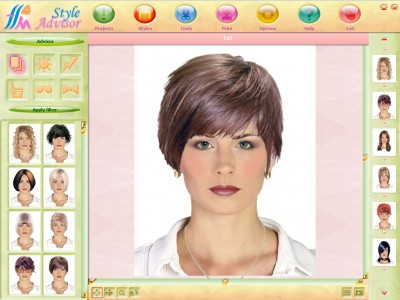 Fashion Software on Style Advisor 1 0 Kostenlose Download  Hairstyling Berater Mit     Ber