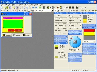 StyleSkin 7.1 screenshot