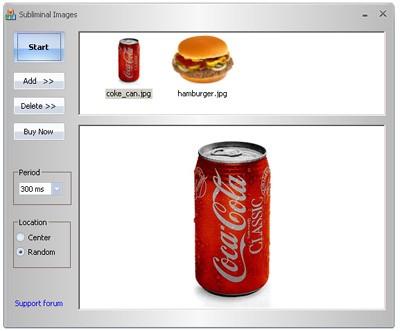 Subliminal Imaging 1.0 screenshot