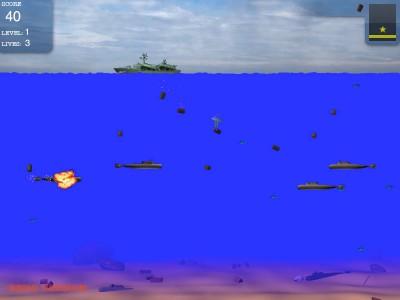 Submarines for Mac 1.3.2 screenshot
