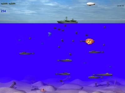 SubmarineS 3.4.2 screenshot