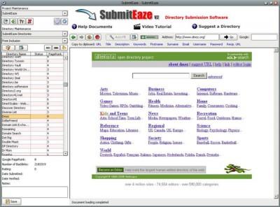 SubmitEaze 2.0 screenshot
