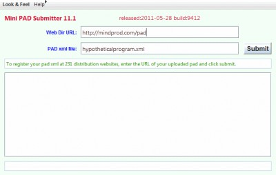 Submitter 17.4 screenshot