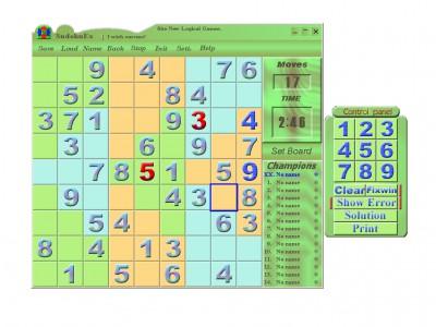 Sudoku Extend 5.00 screenshot