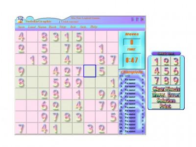 Sudoku Graphic 3.07 screenshot