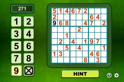 Sudoku 1.7.1 screenshot