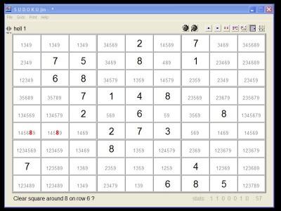 SudokuJm 1.3 screenshot