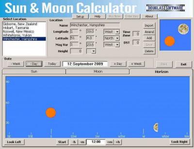 Sun & Moon Calculator 4.4.2-1 screenshot