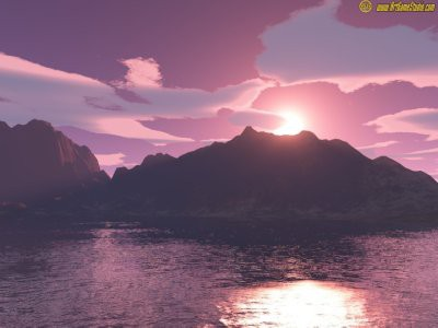 Sunset Screensaver 1 screenshot