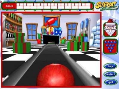 Super Elf Bowling 2.2 screenshot
