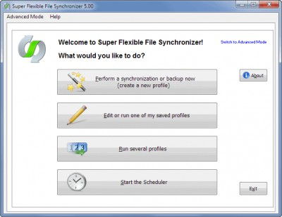 Super Flexible File Synchronizer 5.56a screenshot