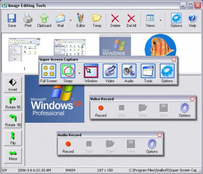 Super Free Screen Capture 5.39 screenshot