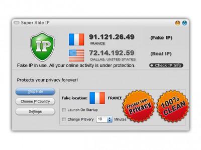 Super Hide IP 3.6.3.8 screenshot
