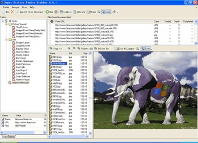 Super Image Picture Finder Grabber 4.15 screenshot