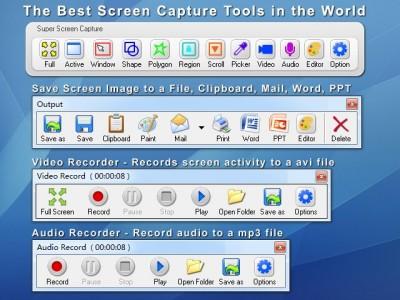 Super Screen Capture 6.1 screenshot