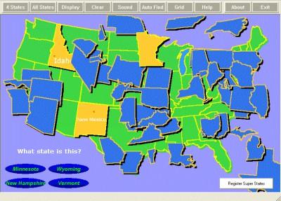 Super States 2.0 screenshot