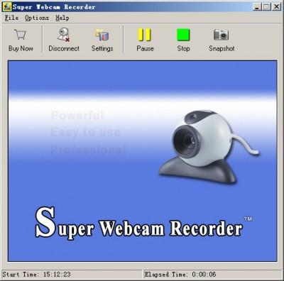 Super Webcam Video Recorder 5.39 screenshot