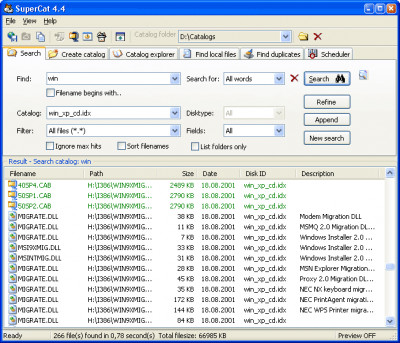 SuperCat 4.6 screenshot