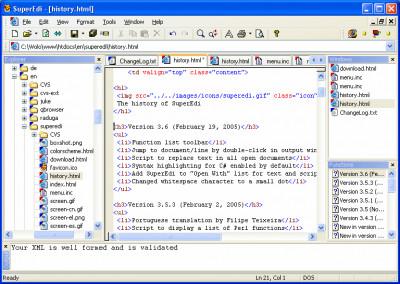 SuperEdi 4.3.2 screenshot
