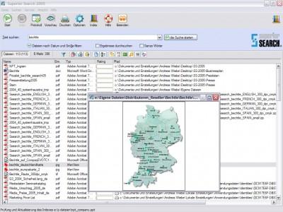 Superior Search 2005 2.0.5.429 screenshot