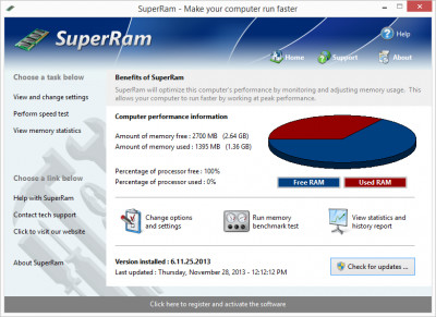 SuperRam 7.7.24.201 screenshot