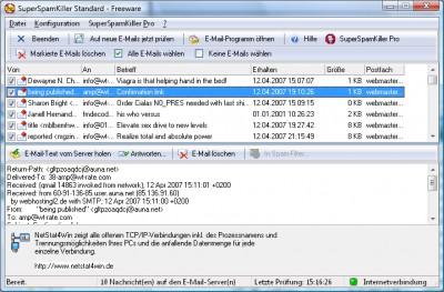 SuperSpamKiller 2.20 screenshot